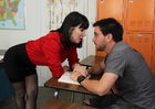 Rayveness & Dane Cross in My First Sex Teacher - Sex Position 1