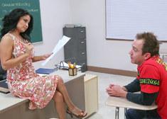 Sophia Lomeli & Will Powers in My First Sex Teacher - Centerfold