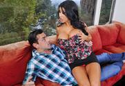 Angelica Taylor & Ryan Driller in My Girlfriend's Busty Friend - Sex Position 1