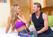 Nicole Aniston & Ryan Mclane in My Girlfriend's Busty Friend - Sex Position 1
