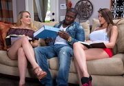 Brooklyn Chase, AJ Applegate & Rob Piper  in My Sisters Hot Friend - Sex Position 1