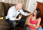 Alexis Grace & Johnny Sins in My Sister's Hot Friend - Sex Position 1