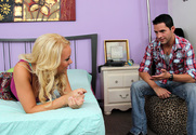 Alexis Monroe & Kris Slater in My Sister's Hot Friend story pic