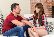 Alison Rey & Ryan Driller in My Sister's Hot Friend story pic
