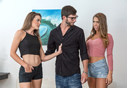 Ally Tate & Jill Kassidy & Logan Long in My Sister's Hot Friend