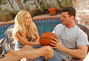 Amy Brooke & Preston Parker in My Sister's Hot Friend story pic