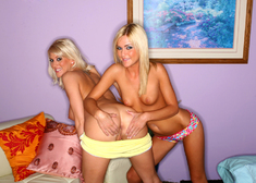 Mckenzee Miles, Eve Laurence & Evan Stone in My Sisters Hot Friend - Centerfold