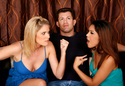 Nautica Thorn & Fayth DeLuca & Chris Cannon in My Sister's Hot Friend story pic
