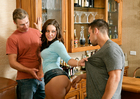 Gracie Glam & Johnny Castle in My Sisters Hot Friend - Sex Position 1