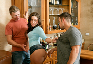 Gracie Glam, Johnny Castle & Michael Vegas in My Sisters Hot Friend - Sex Position 1