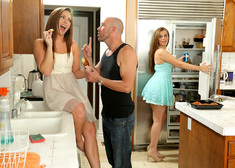 Maddy O'Reilly, Jillian Janson & Will Powers in My Sister's Hot Friend - Centerfold