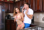 Melissa Moore & Levi Cash in My Sisters Hot Friend - Sex Position 1