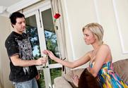 Victoria White & Mark Zane in My Sister's Hot Friend - Sex Position 1