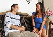 Ariella Ferrera & Alan Stafford in My Wife's Hot Friend - Sex Position 1
