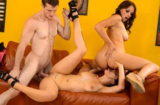 Katrina Jade, Kayla West  & Brick Danger in My Wife's Hot Friend