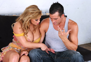 Shyla Stylez & Billy Glide in My Wife's Hot Friend - Sex Position 1