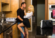Ashley Fires & Seth Gamble in Dirty Wives Club - Sex Position 1