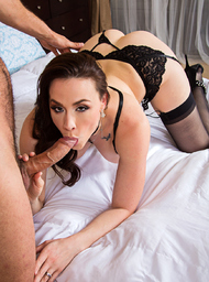 Bad Girl & Client Porn Video with American and Blow Job scenes