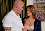 Carmen McCarthy & Derrick Pierce in Neighbor Affair story pic