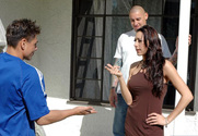 Kaylynn & Jason Cox & Sergio in Neighbor Affair