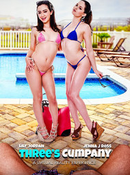 Girlfriend & Girlfriend's Friend Porn Video with American and BGG scenes