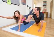 Abigail Mac & Tyler Nixon in Naughty Athletics story pic