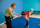 Lea Lexis & Mark Wood in Naughty Athletics - Sex Position 1