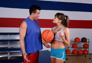 Nika Noir & Billy Glide in Naughty Athletics - Sex Position 1