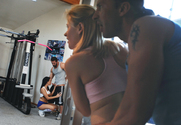 Sindee Jennings, Hottie Hollie, Reno & Tony DeSergio in Naughty Athletics - Sex Position 1