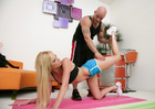 Victoria White & Derrick Pierce in Naughty Athletics - Sex Position 1