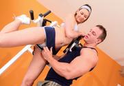 Victoria Lawson & TJ Cummings in Naughty Athletics - Sex Position 1