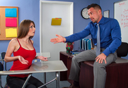 Dillion Carter & Johnny Castle in Naughty Bookworms - Sex Position 1