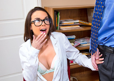 Dillion Harper & Mark Wood in Naughty Bookworms - Centerfold