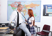 Dolly Little & Sean Lawless in Naughty Bookworms story pic
