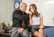 Jillian Janson & Derrick Pierce in Naughty Bookworms - Sex Position 1