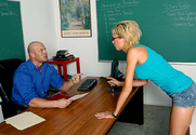 Victoria White & Christian in Naughty Bookworms - Sex Position 1