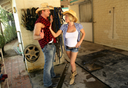 Krissy Lynn & Bill Bailey in Naughty Country Girls