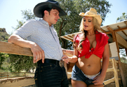 Phoenix Marie & Anthony Rosano in Naughty Country Girls - Sex Position 1