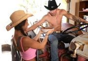 Rachel Roxxx & Joey Brass in Naughty Country Girls