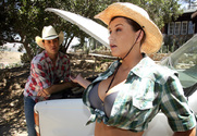 Sara Stone & Otto Bauer in Naughty Country Girls - Sex Position 1