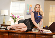 Alexis Texas & Damon Dice in Naughty Office story pic