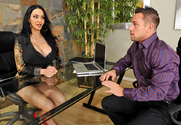 Amy Anderssen & Johnny Castle in Naughty Office - Sex Position 1