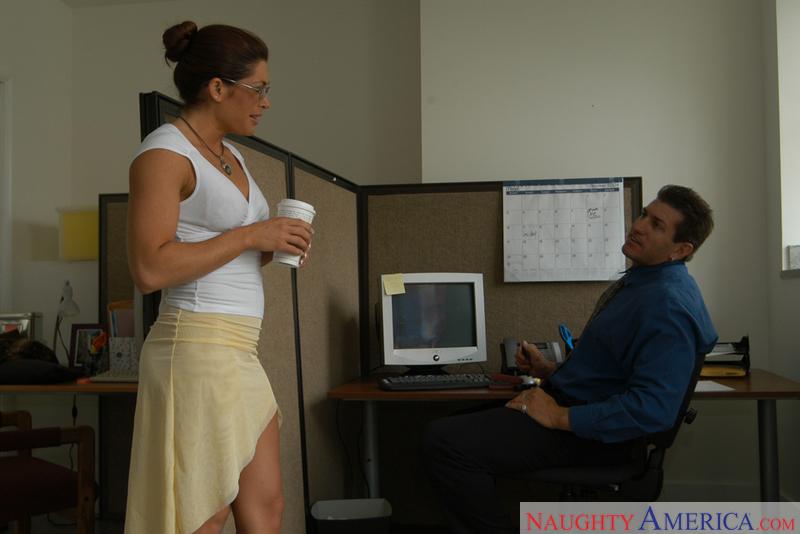 Aria naughty office