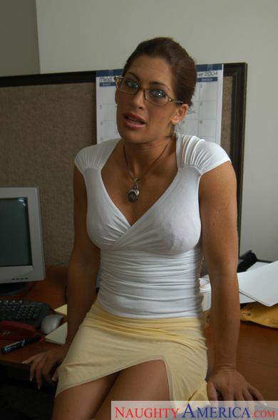 Naughty office aria