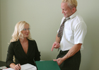 Barbara Summers &  in Naughty Office - Sex Position 1