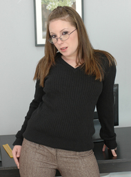 Co-worker Porn Video with Big Ass and Brunette scenes