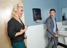 CJ Jean & Brick Danger in Naughty Office - Centerfold