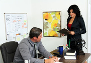Danica Dillon & Aaron Wilcoxxx in Naughty Office - Sex Position 1