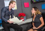Danica Dillon & Ryan Mclane in Naughty Office - Sex Position 1