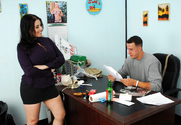 Daphne Rosen & Chris Strokes in Naughty Office